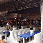 inside bar area for rainy weather