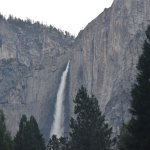 Yosemite Falls, view from the village