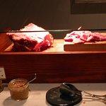 sliced fresh ham