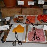 cold cuts smoked fish and cheeses
