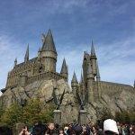 Hogwarts castle in Universal Japan