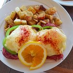 Sweet and Spicy Capicollo Benny. This was a special, and is not on their regular menu.