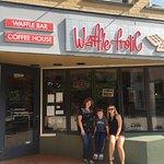 Outside the Waffle Frolic