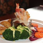Georgio's Surf & Turf: USDA Prime Filet Mignon with Jumbo Gulf Shrimp