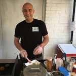 "Chef Giovanni in the ""kitchen"""