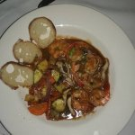 Shrimp Tchefuncta, with veggies substituted for the rice.