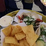 tacos, chips & queso