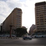 View of Hotel from Al Tahrir square,