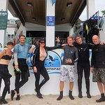 Jen, Tim, Gail, Andy (Action Divers), Steve and Craig
