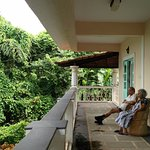 Beautiful veranda to just relax and do nothing