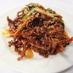 Crispy Dry Shredded Chili Beef