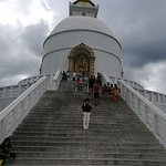 The majestic World Peace Stupa