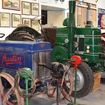 Lots of old tractors.