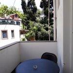 balcon côté arrière hôtel