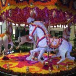 Carousal of Flowers at the Bellagio Conservatory