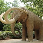 Statue of mammoth