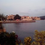 Lake Pichola - View from Hotel in evening