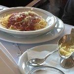 Spaghettis fürs Kind