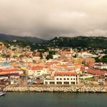 Grenada from the ship