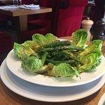 Salade verte et salade césar