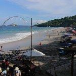 La plage en elle-même
