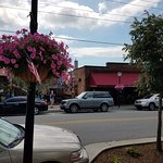 Located right on Main Street in downtown Blowing Rock. Park for free on street or nearby garage