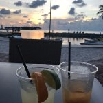Drinks & the view!