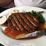 Prime Rib....more like a Rib eye steak! Excellent!