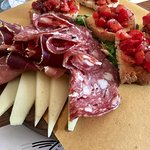 Third and final winery, Casa Emma, included an amazing Tuscan lunch paired with wine