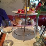 Luxury Afternoon Tea for Two with Prosecco: lovely!