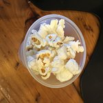 Yep, popcorn on the food tour. It was however, fab!