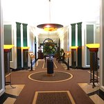 Corridor to main restaurant, Gleneagles