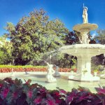 The Forsyth Park Fountain