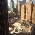 View of Manhattan from my guestroom.