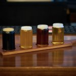 Local, craft beers from the Orpheum Cafe