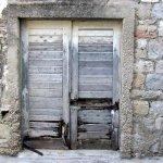 Typical Greek window-shutter