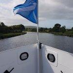 Heading through Caledonian Canal