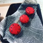 Raspberry macarons :p