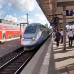 TGV in Stuggart going to Paris