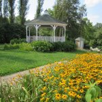 Plain & Fancy-West Side Flower Bed & Gazebo