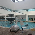 Indoor pool was awesome!