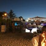 Paranga, on beach dining