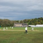 Wedding day cricket match