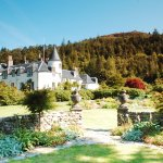 Attadale House and the beautiful setting of Attadale Garden. Stunning in the sunshine.