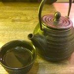 The green tea