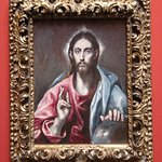 El Greco (Domenikos Theotokopoulos) 1541 – 1614) Greek, The Savior of the World about 1600