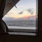 Every room has a window with sea views