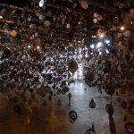 Nick Cave's Until -- amazing collection of lawn ornaments and kaleidoscopes