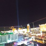 Roof top view of Vegas Strip