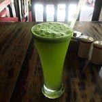 Ginger Mint Cooler - Gaia Cafe, Kathmandu